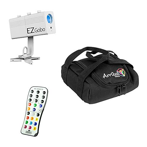 Chauvet DJ Lighting EZ Gobo Battery Powered LED Image Projector & Travel Bag - Chauvet Projector