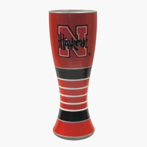 NCAA Nebraska Cornhuskers Artisan Pilsner Glass, 23-ounce ()