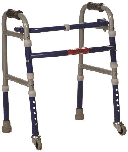 buy vissco invalid foldable walker castors universal adjustable