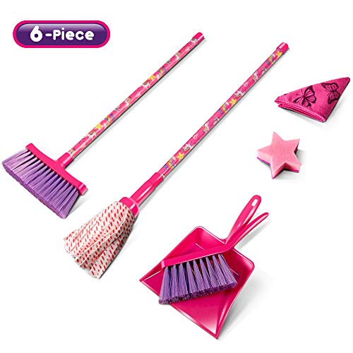 Kids Cleaning Set 6 Piece,6 in 1 Lightweight Children