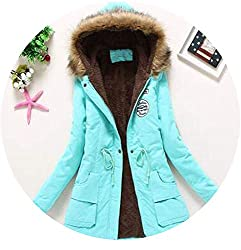 The Small Cat New Winter Military Coats Women Cotton Wadded Hooded Jacket Medium Long Casual Parka Snow Outwear Large Asphotocolor