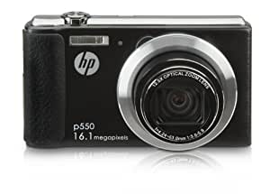 HP HP-P550 16MP Digital Camera with 12.5x Optical Image Stabilized Zoom and 2.7-Inch LCD Screen (Black)