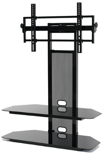LCDLED TV Stand For 40 To 65Inch Flat Panel LCD With Black 65 Inch Tv Stand B40