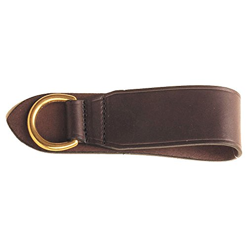 Tory Leather - Deluxe Girth Ring With Solid Brass Dee