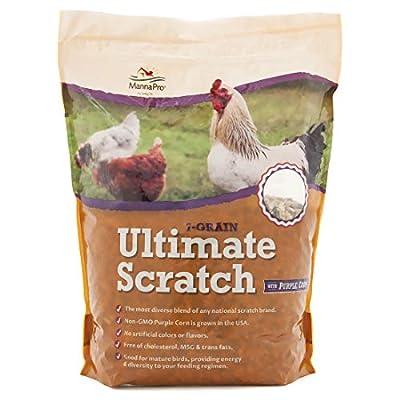 Manna Pro 7-Grain Ultimate Chicken Scratch | Non-GMO | 10 Pounds