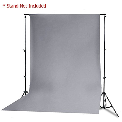 StudioFX 6ft x 9ft Grey Muslin Backdrop 100% Cotton Photography Photo by Kaezi Photo (Gray Muslin - 6ft x 9ft) by StudioFX