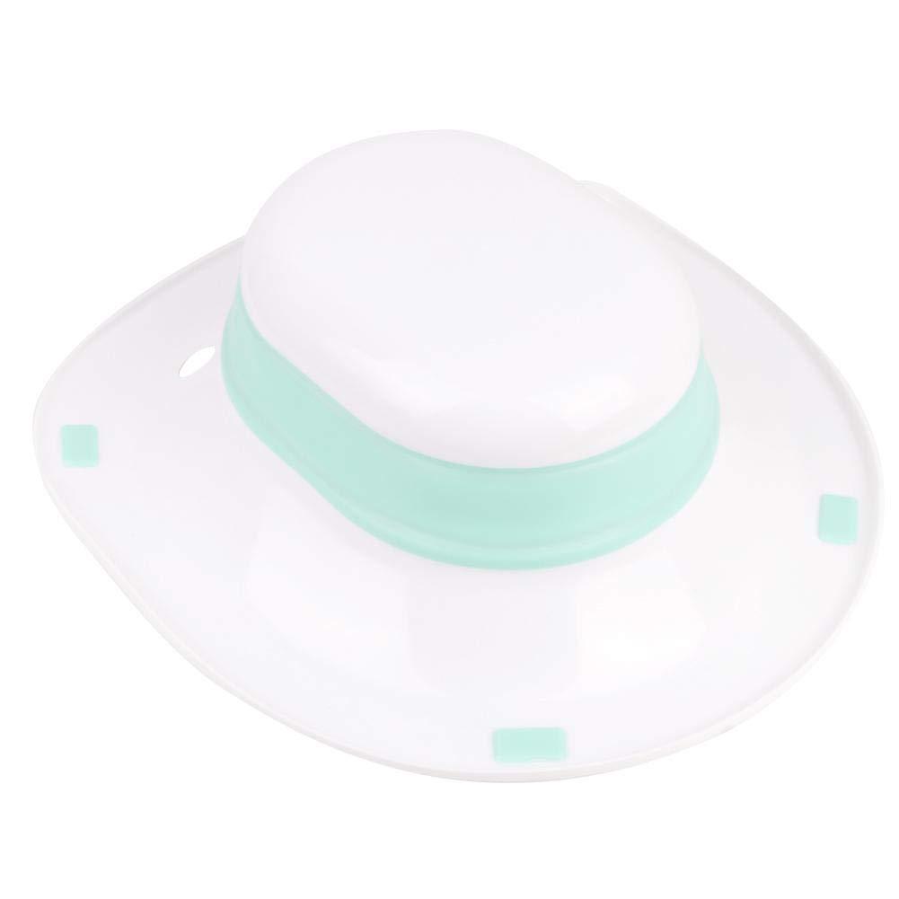 Blue Garosa Sitz Bath Washing Hip Basin Folding Portable Bidet Fits on Toilet Perineal Soaking for Hemorrhoidal Maternity Pregnant Women