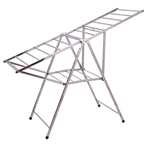 Moon_Daughter Long Large Heavy Duty Stainless Steel Folding