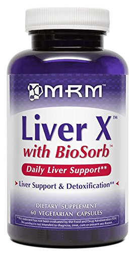 MRM – Liver X with BioSorb, Daily Liver Support & Detoxification, Ultimate Hangover Helper (60 Vegetarian Capsules) For Sale