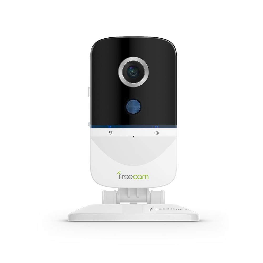 Cámara WiFi FREECAM cámara de Seguridad activada por Movimiento Charla bidireccional con Alarma de Sirena, detección de intrusión sospechosa incorporada, L890