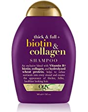 OGX Thick and Full Biotin and Collagen Shampoo, 385ml