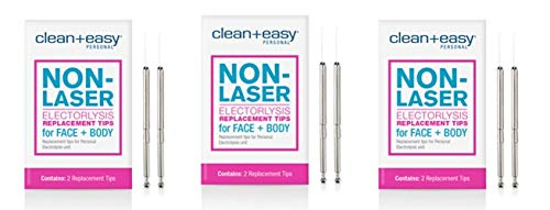 Clean & Easy One Touch Electrolysis Stylet Tips * 3 - Packs