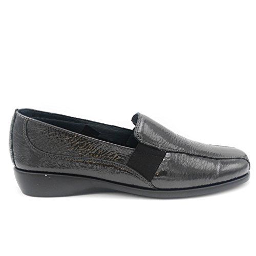 Flats Grunland Grey Women's Loafer Anthracite Rpngq6xn