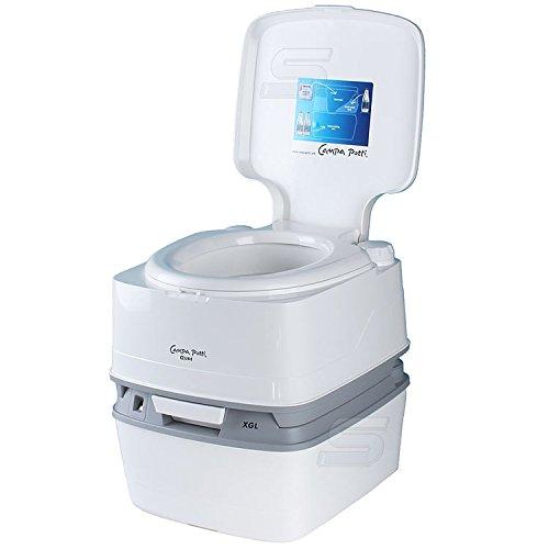 Thetford Toilettes de camping avec indicateur du niveau de remplissage Qube XGL 21 litres