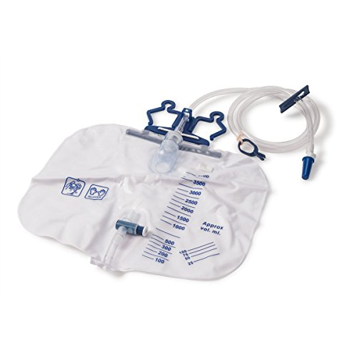 4000mL Urine Collection Drainage Bags Latex Free ()