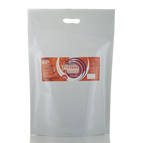Protein Shake 5Kg (100 servings) (Strawberry) by Allsports by Allsports Nutrition