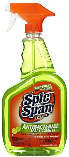 Spic and Span Everyday Antibacterial Spray Cleaner: 40 OZ