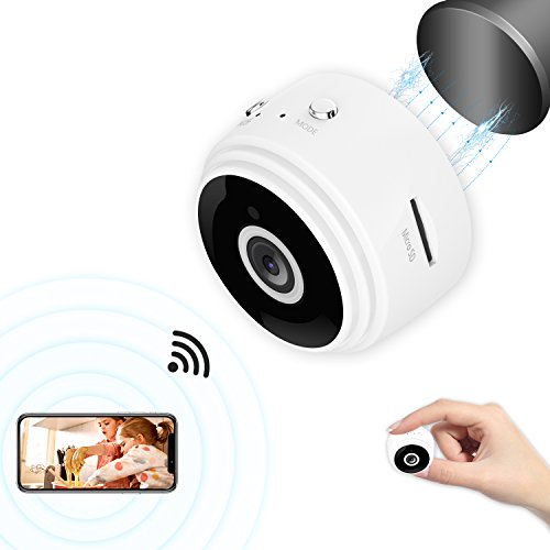 Mini Spy Camera Ehomful WiFi Hidden Camera Wireless Body Camera 1080P HD Hidden Spy Camera Video Recorder Security Nanny Cam with Night Vision Motion Detection/Remote Monitor for iOS/Android