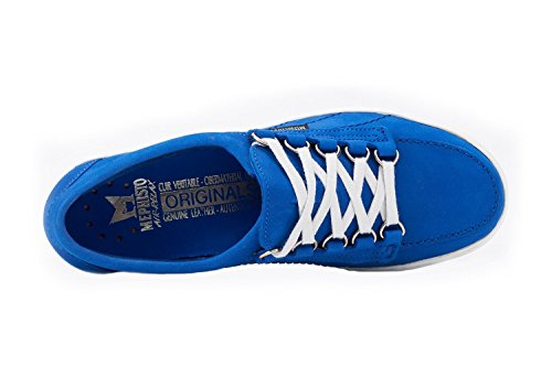 MEPHISTO STRINGATA DONNA SCARPA COBALT BLUE LADY BASSA SUPER q6wCfqr
