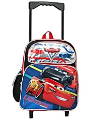 Disney Pixar Cars 12 Toddler Mini Rolling Backpack
