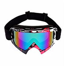 SUN Outdoor Sports Motocycle Windproof Glasses Skiing Goggles SU-F291