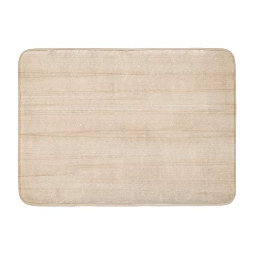 Wood Soopat Bath Mat,Wood Surface and Decoration Light Floor Wooden Nature Wallpaper Absorbent Non-Slip,Quick-Dry,Bathroom Rugs for Bathroom Indoor Doormat 17''L x 24''W