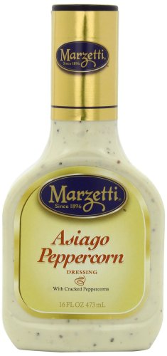 Marzetti Dressings, Asiago Peppercorn, 16 Ounce (Pack of 6)