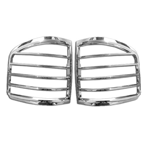 Razer Auto Chrome Tail Light Bezel Trim Cover for 2004-2008 Ford F150 Flareside ()
