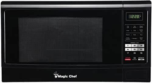 Magic Chef MCM1611B 1100W Microwave Oven, 1.6 cu. ft., Black