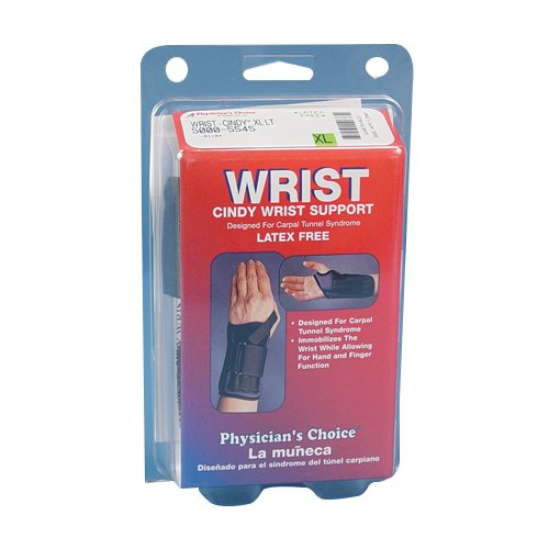 Bird & Cronin 50005541 Cindy Wrist Support, Clamshell Packaging, Left, X-Small