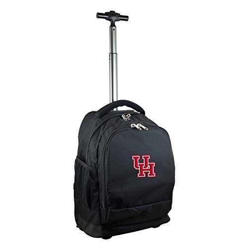NCAA Houston Cougars Expedition Wheeled Backpack, 19-inches, Black