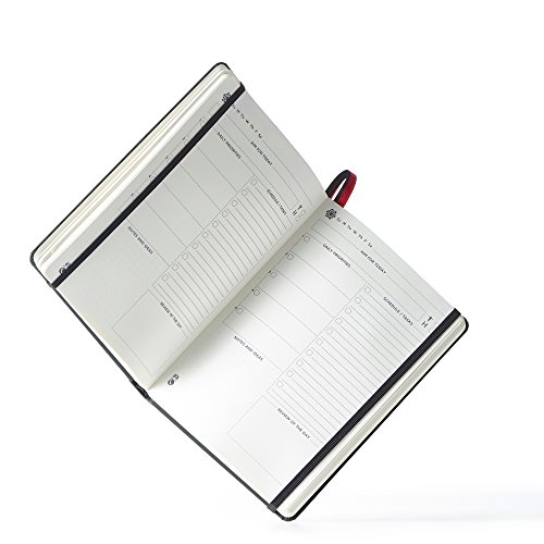 The Ultimate Agenda & Daily Planner to Boost Productivity, Hit Your Goals & Reach Happiness - Gratitude Journal - Personal Daily Weekly Monthly Organizer - Undated Notebook Calendar Photo #3