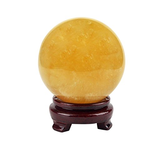 (Feng Shui Natural Citrine Crystal Sphere Ball 4
