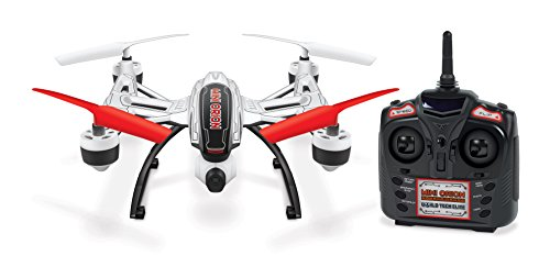 World Tech Toys Elite Mini Orion Spy Drone 2.4GHz 4.5CH Picture/Video Camera RC Quadcopter, White, 12 x 7.75 x 4.25 (Mini Orion Live Feed Lcd Screen Drone)