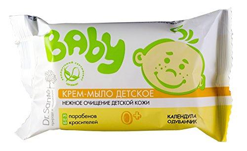Dr. Sante Baby. Calendula & Dandelion Cream Soap (Set of 3) by Dr. Sante (Image #1)