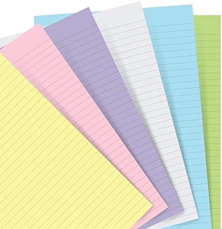 Recharges de papier A5 Filofax 152018 recharge de papier 150 x 210 mm