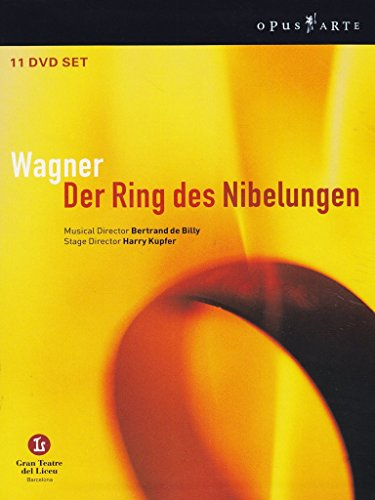 Wagner - Der Ring des Nibelungen (Ring Cycle) / de Billy, Gran Teatre del Liceu (Barcelona Opera) by BBC / Opus Arte