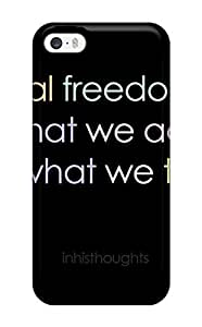 Case Cover Freedom Quotes / Fashionable Case For Iphone 5/5s