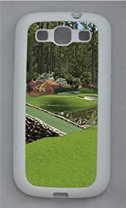 12th Augusta National Hard Silicone PC for For SamSung Galaxy S6 Case Cover White