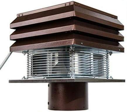 Extractor de humo Extractores de humo para chimeneas para barbacoa Aspirador de humos para chimenea extractor de chimenea modelo Base redondo de 20 cm 200 mm: Amazon.es: Hogar