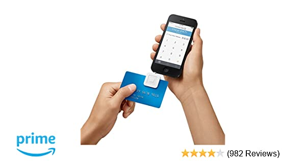 Amazon square credit card reader for iphone ipad and android amazon square credit card reader for iphone ipad and android cell phones accessories reheart Image collections