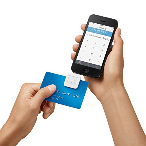 Square Credit Card Reader for iPhone, iPad and (Phone Cards Set)