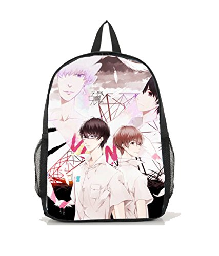 Dreamcosplay Anime Terror in Resonance Logo Backpack Book Bag by Dreamcosplay