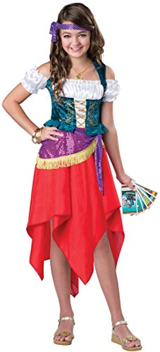 Kid Gypsy Costumes (Mystical Gypsy Child Costume -)