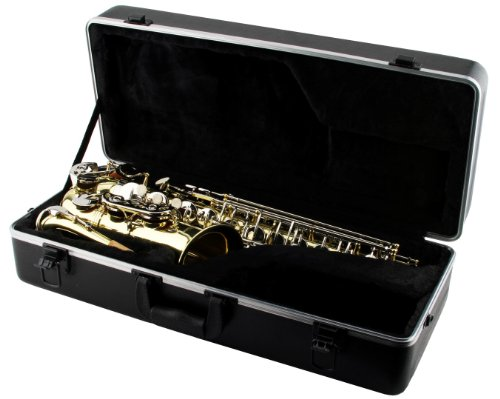 LJ Hutchen Eb Alto Saxophone with Plush-Lined Case