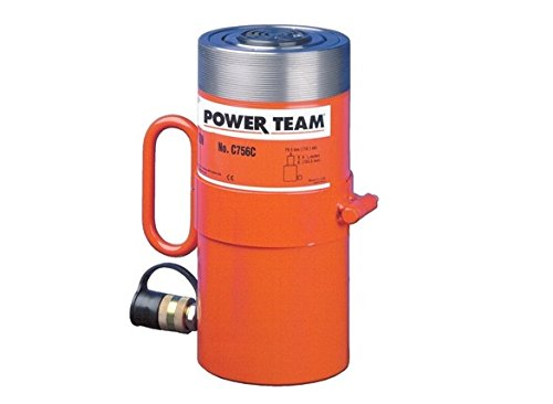 SPX Power Team C1016C Single Acting General Purpose Cylinder, 10 Ton Capacity, 16'' Stroke by SPX POWER TEAM