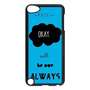 iPod 5 Case,Quotes from The Fault in Our Stars Hard Snap-On Cover Case for iPod Touch 5, 5G (5th Generation) by mcsharks