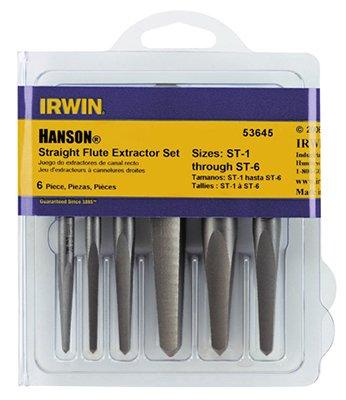 Irwin Industrial Tool 53635 Straight Flute Screw Extractor, 5-Pc. - Quantity 15