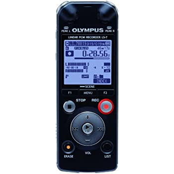 amazon com olympus ls 7 linear pcm voice recorder 142670 electronics rh amazon com Digital Recorder Olympus LS 7 LS7 Crate Engine
