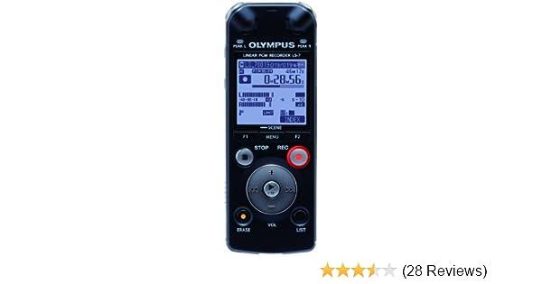 amazon com olympus ls 7 linear pcm voice recorder 142670 electronics rh amazon com LS 7 Engine LS7 Crate Engine